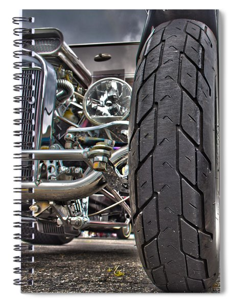 Ford In Hdr Spiral Notebook
