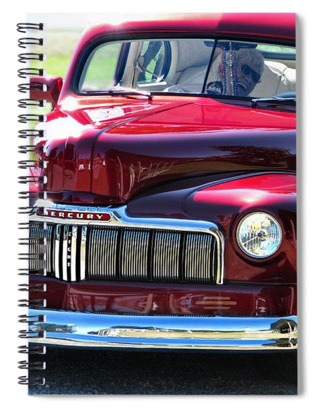 Ford Mercury Eight Spiral Notebook