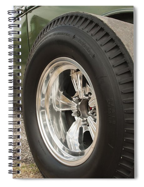 Ford Model A Hotrod Spiral Notebook