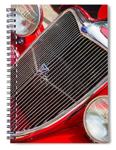 Ford Roadster V8 Spiral Notebook
