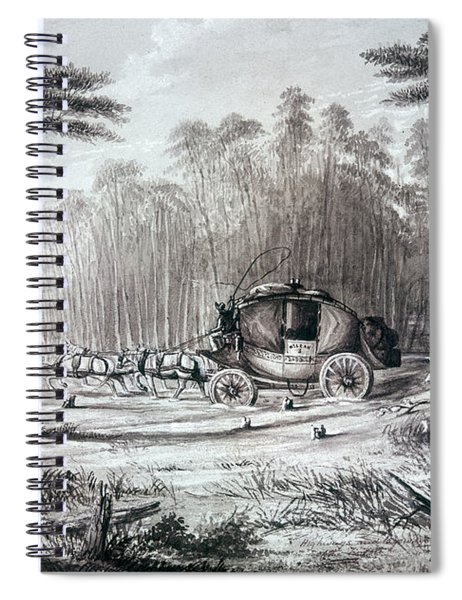 Forest Road, 1836 Spiral Notebook