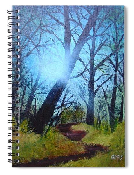 Forest Sunlight Spiral Notebook