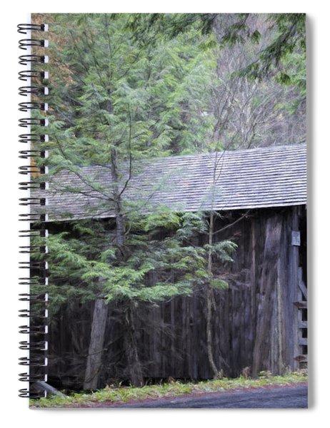 Forge Bridge Spiral Notebook