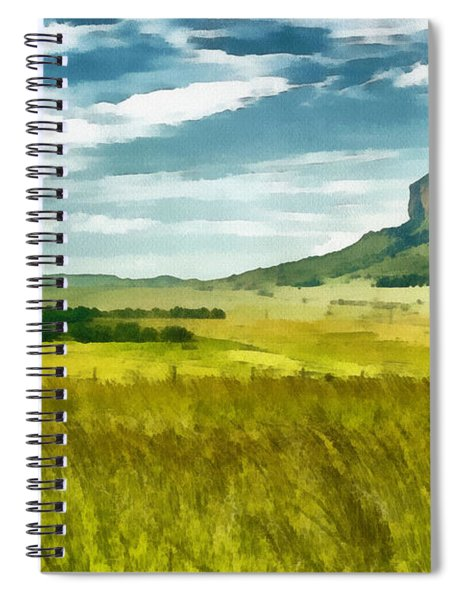 Forgotten Fields Spiral Notebook