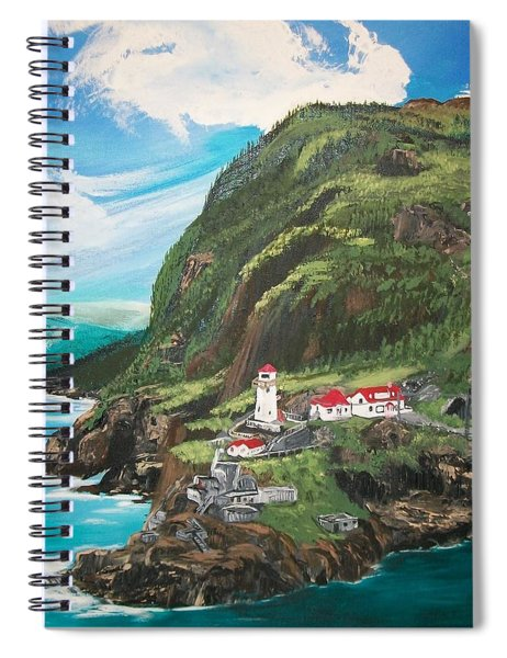 Fort Amherst Newfoundland Spiral Notebook