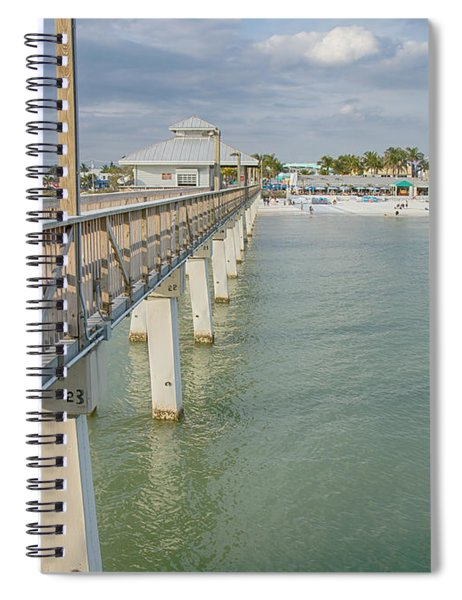 Fort Myers Beach Spiral Notebook
