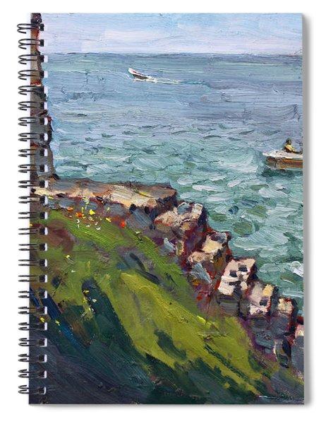 Fort Niagara By Lake Ontario Spiral Notebook