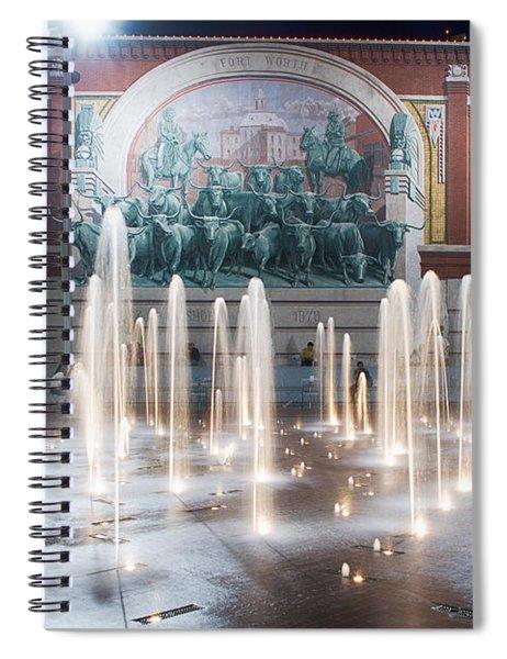 Fort Worth Sundance Square Aug 2014 Spiral Notebook