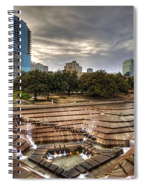 Fort Worth Water Garden Spiral Notebook