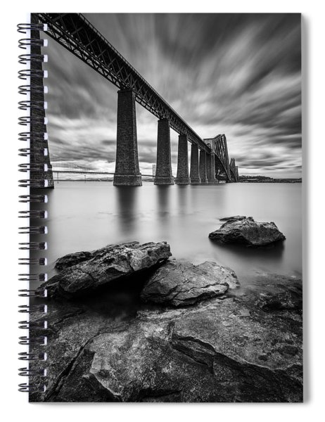 Forth Bridge Spiral Notebook