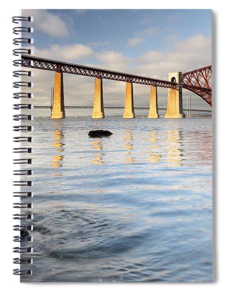 Forth Railway Bridge Spiral Notebook