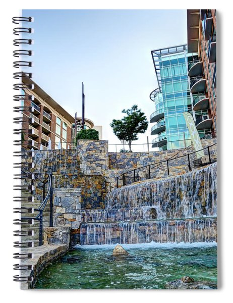 Fountains Spiral Notebook