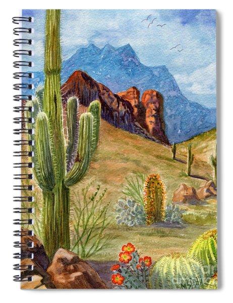 Four Peaks Vista Spiral Notebook