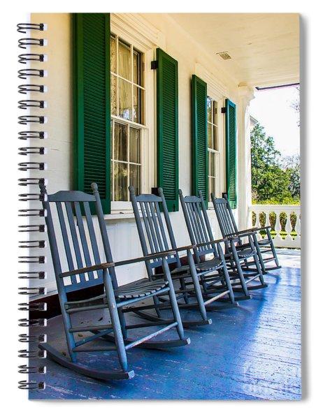 Four Porch Rockers Spiral Notebook
