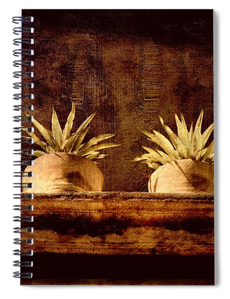 Four Potted Plants Spiral Notebook