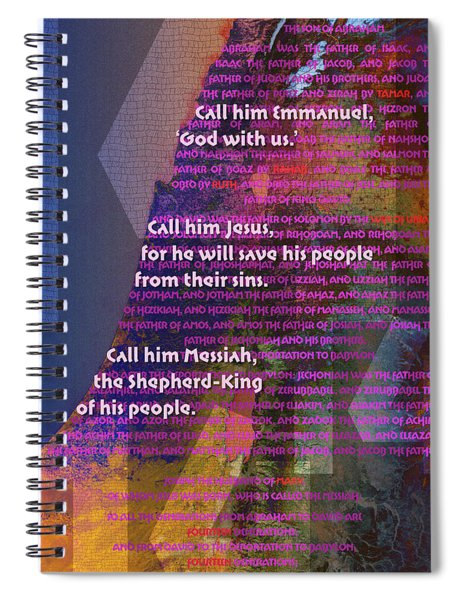 Fourteen Generations Spiral Notebook