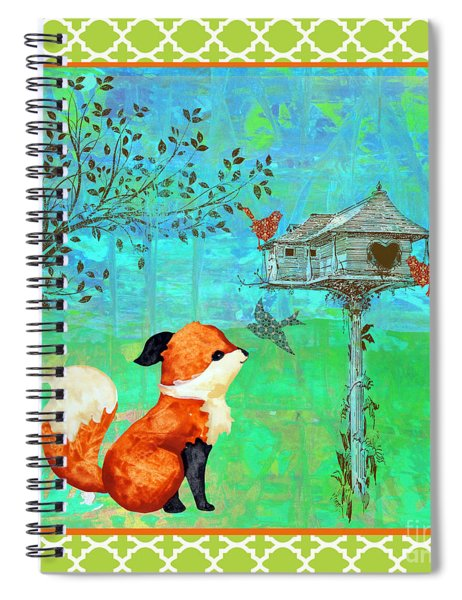 Fox-a Spiral Notebook by Jean Plout