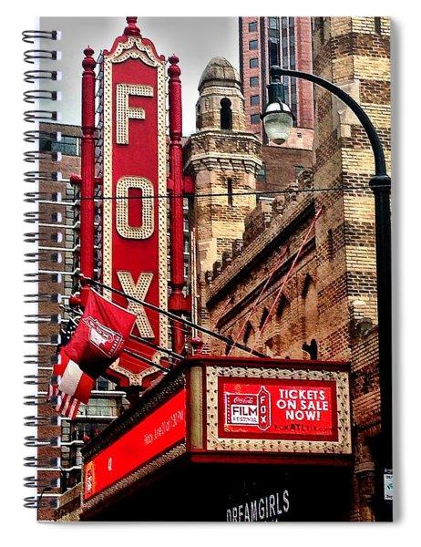 Fox Theater - Atlanta Spiral Notebook