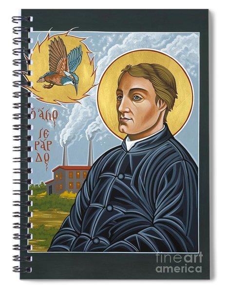 Fr. Gerard Manley Hopkins The Poet's Poet 144 Spiral Notebook