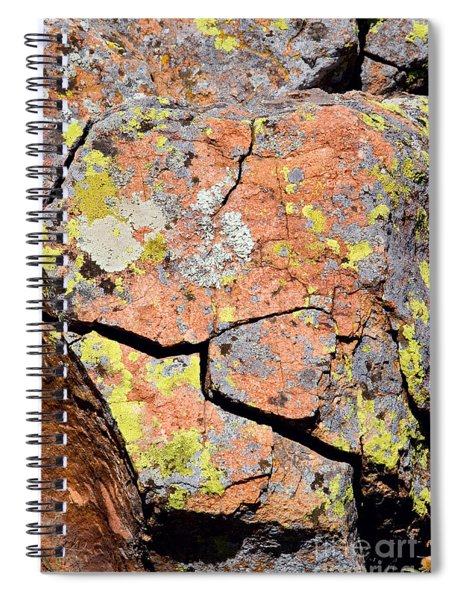 Fracture Weathering In Granite Spiral Notebook