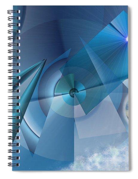Interdimensional Spiral Notebook