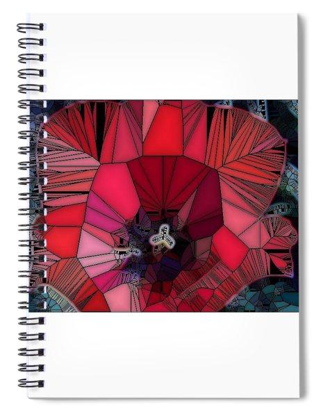 Fragile Flower Spiral Notebook