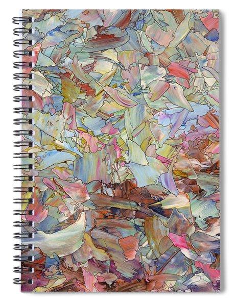 Fragmented Hill Spiral Notebook