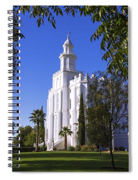 Framed House Spiral Notebook