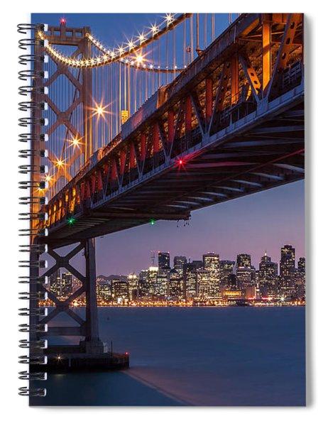 Framing San Francisco Spiral Notebook