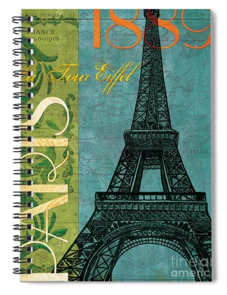 Francaise 1 Spiral Notebook