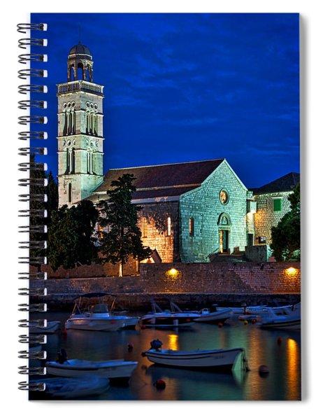 Franciscan Monastery - Hvar Croatia Spiral Notebook