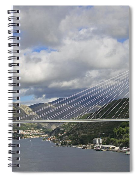 Franjo Tudman Bridge Spiral Notebook