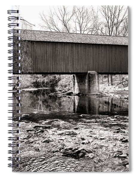 Frankenfield Bridge Over The Tinicum Creek Spiral Notebook