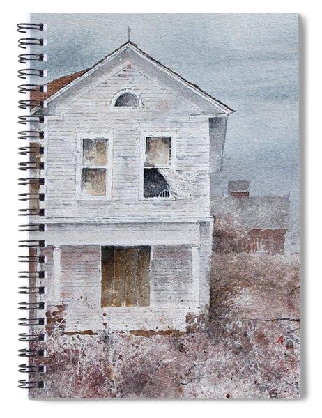 Frayed Spiral Notebook