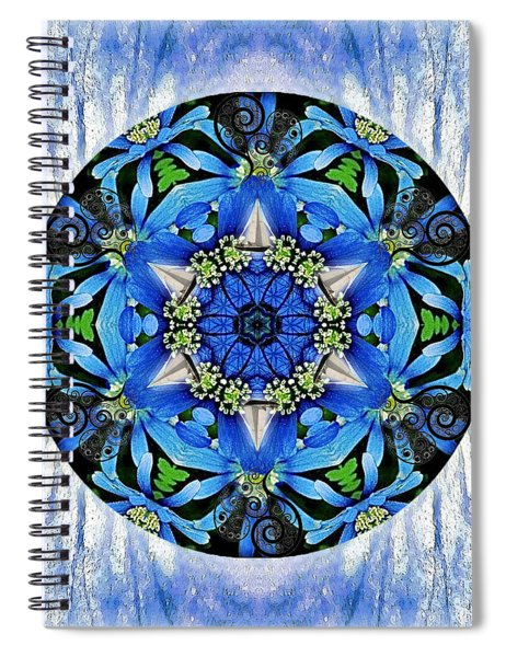 Freedom And Love Spiral Notebook