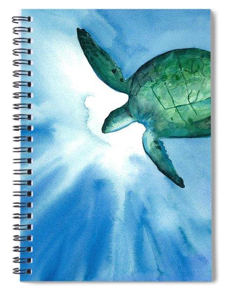 Sea Tutrle 2 Spiral Notebook