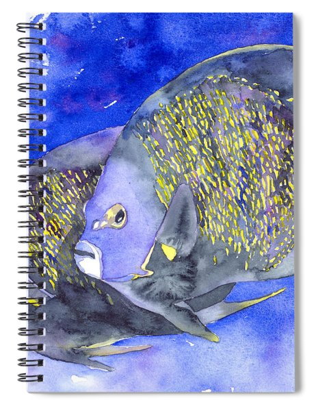 French Angelfish Spiral Notebook