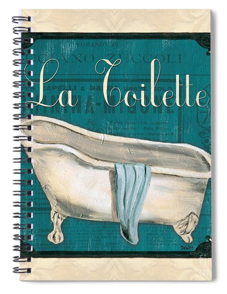 French Bath Spiral Notebook