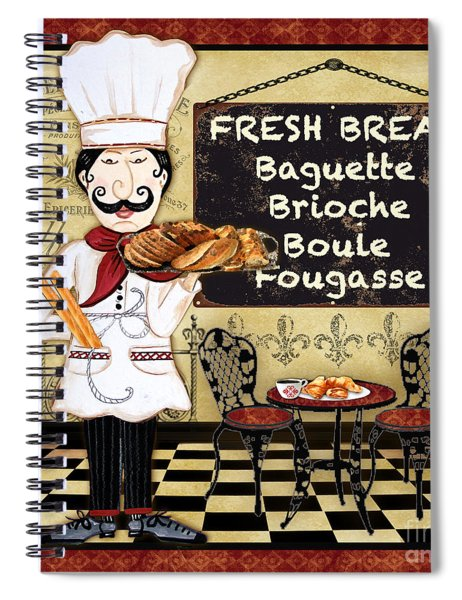 French Chef-a Spiral Notebook