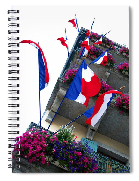 French Flags Spiral Notebook