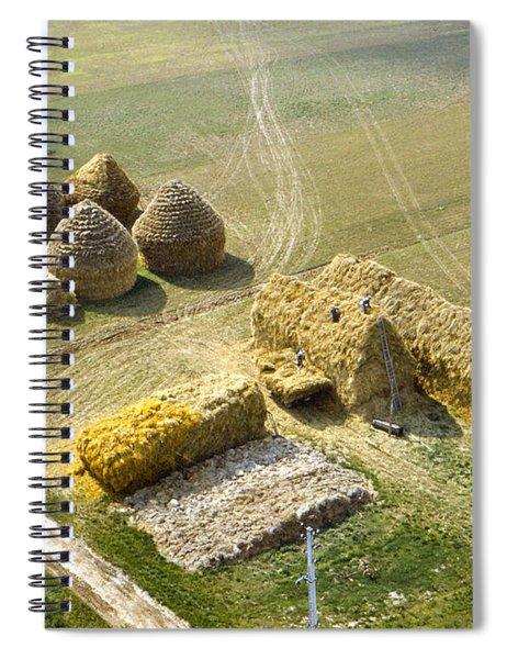 French Haystacks Spiral Notebook
