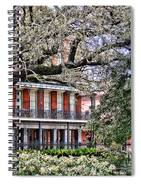 French Quarter Spring Spiral Notebook