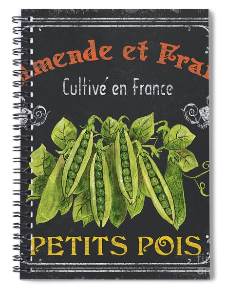 French Vegetables 2 Spiral Notebook