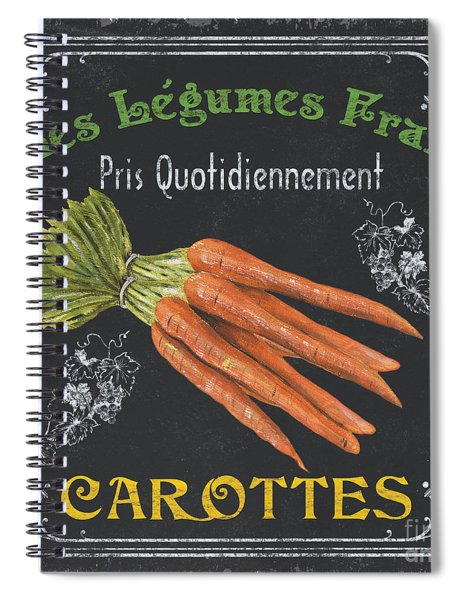 French Vegetables 4 Spiral Notebook