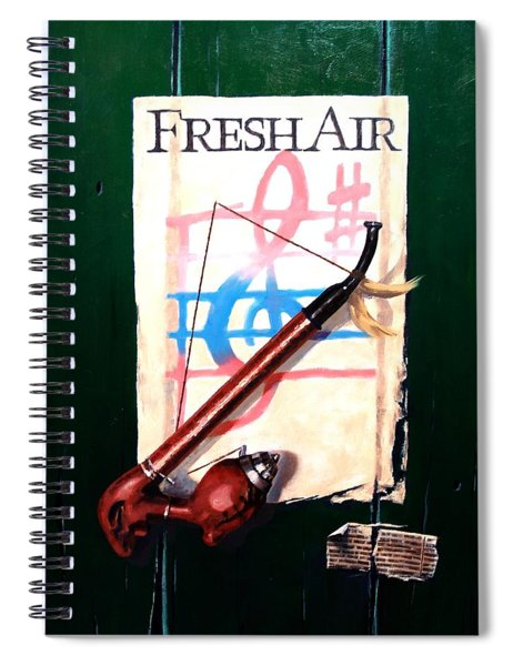 Fresh Air Spiral Notebook