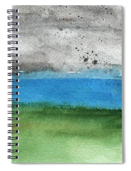 Fresh Air- Landscape Painting Spiral Notebook