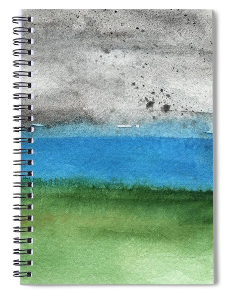 Fresh Air- Landscape Painting Spiral Notebook