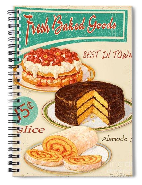 Fresh Baked Good Spiral Notebook