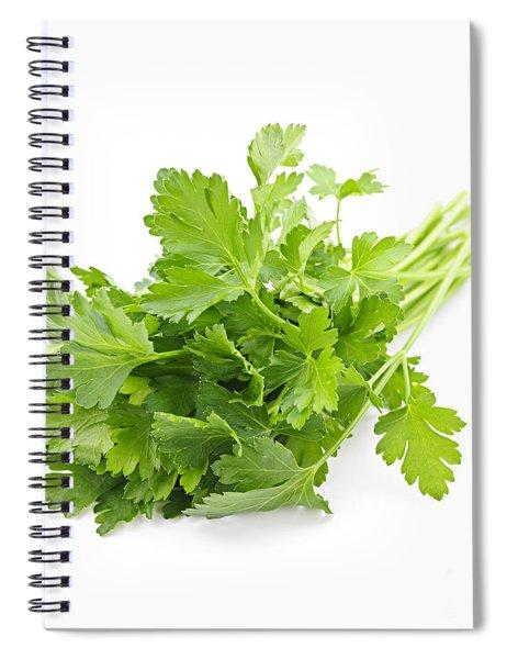 Fresh Parsley Spiral Notebook