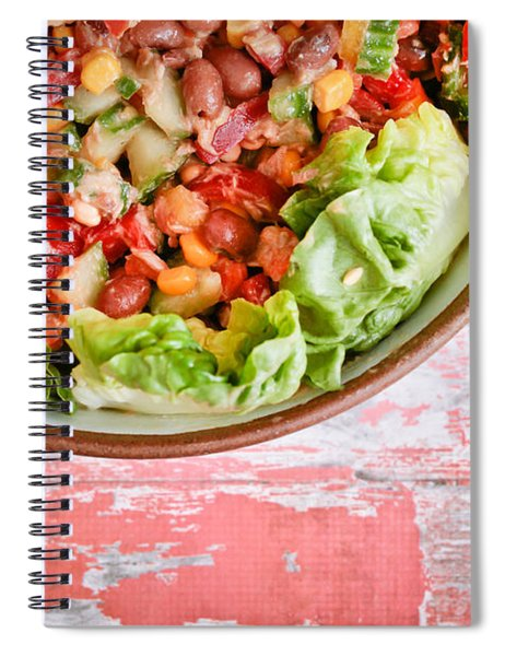 Fresh Salad Spiral Notebook